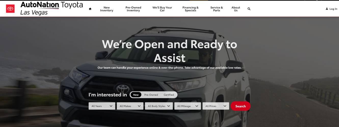 AutoNation Toyota Las Vegas