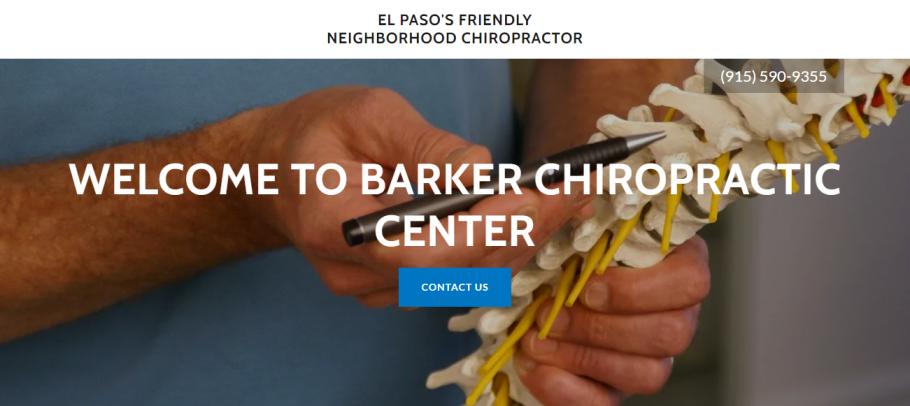 Barker Chiropractic Center in El Paso, TX