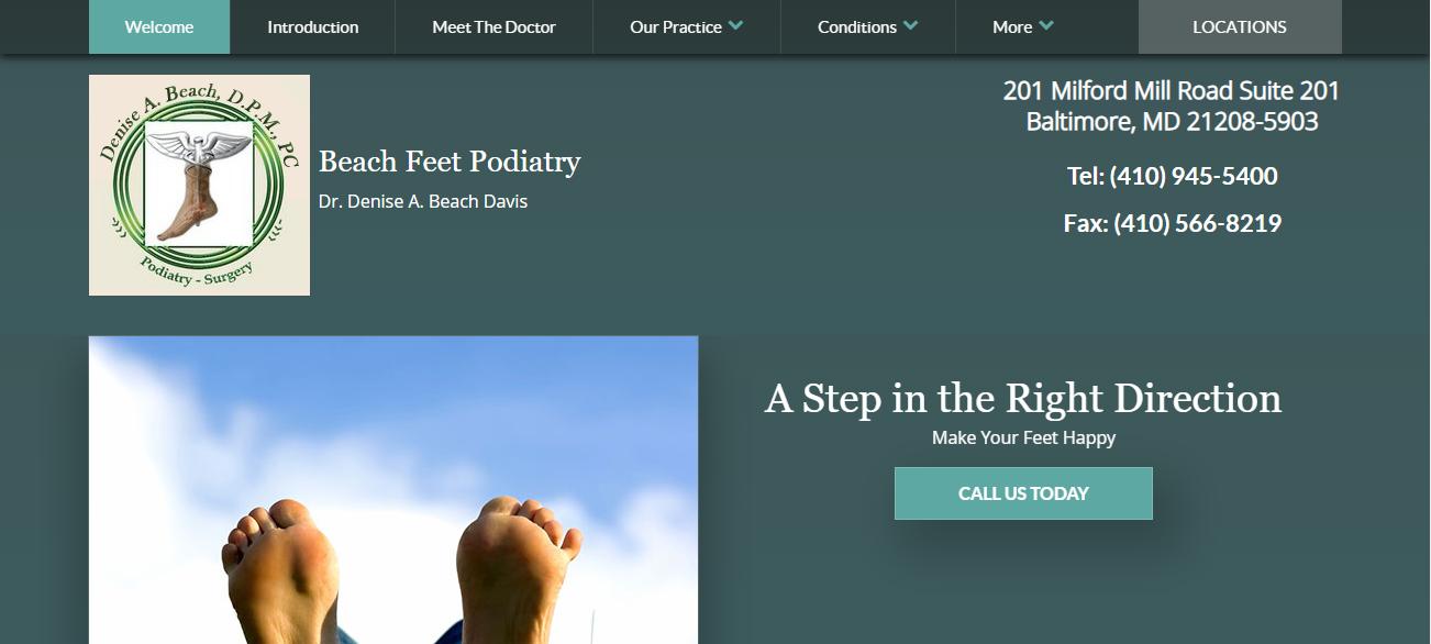 Beach Feet Podiatry in Baltimore, MD