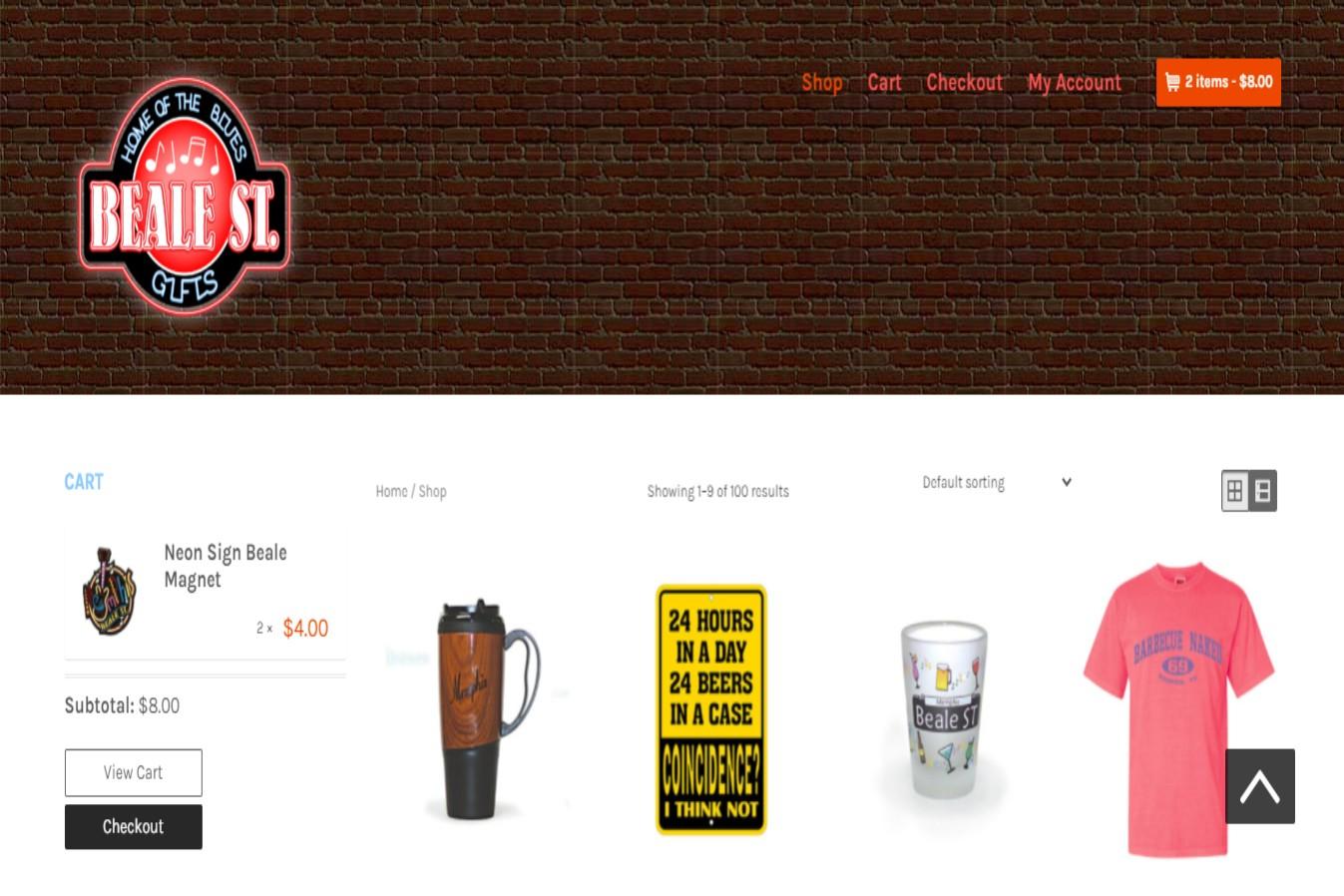 Beale Street Best Gift Shops in Memphis, TN