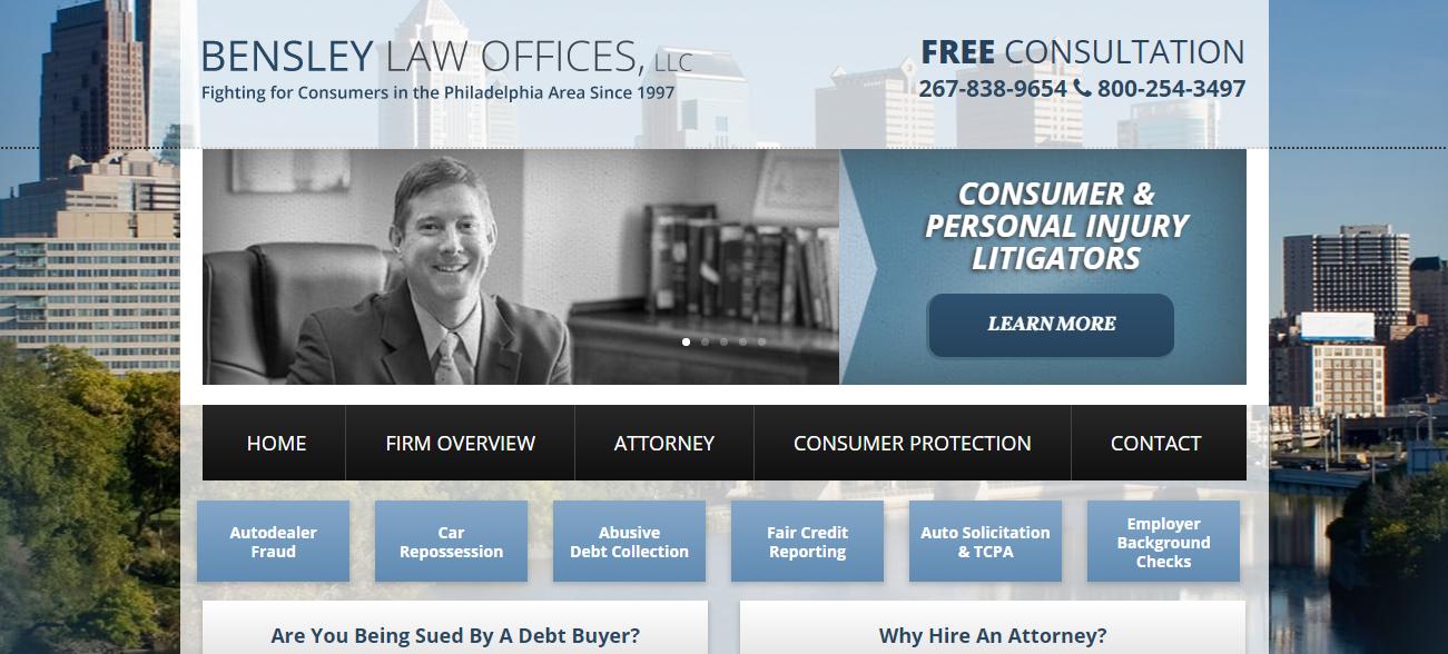 Bensley Law Offices in Philadelphia, PA