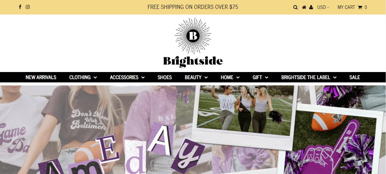 Brightside Boutique in Baltimore, MD