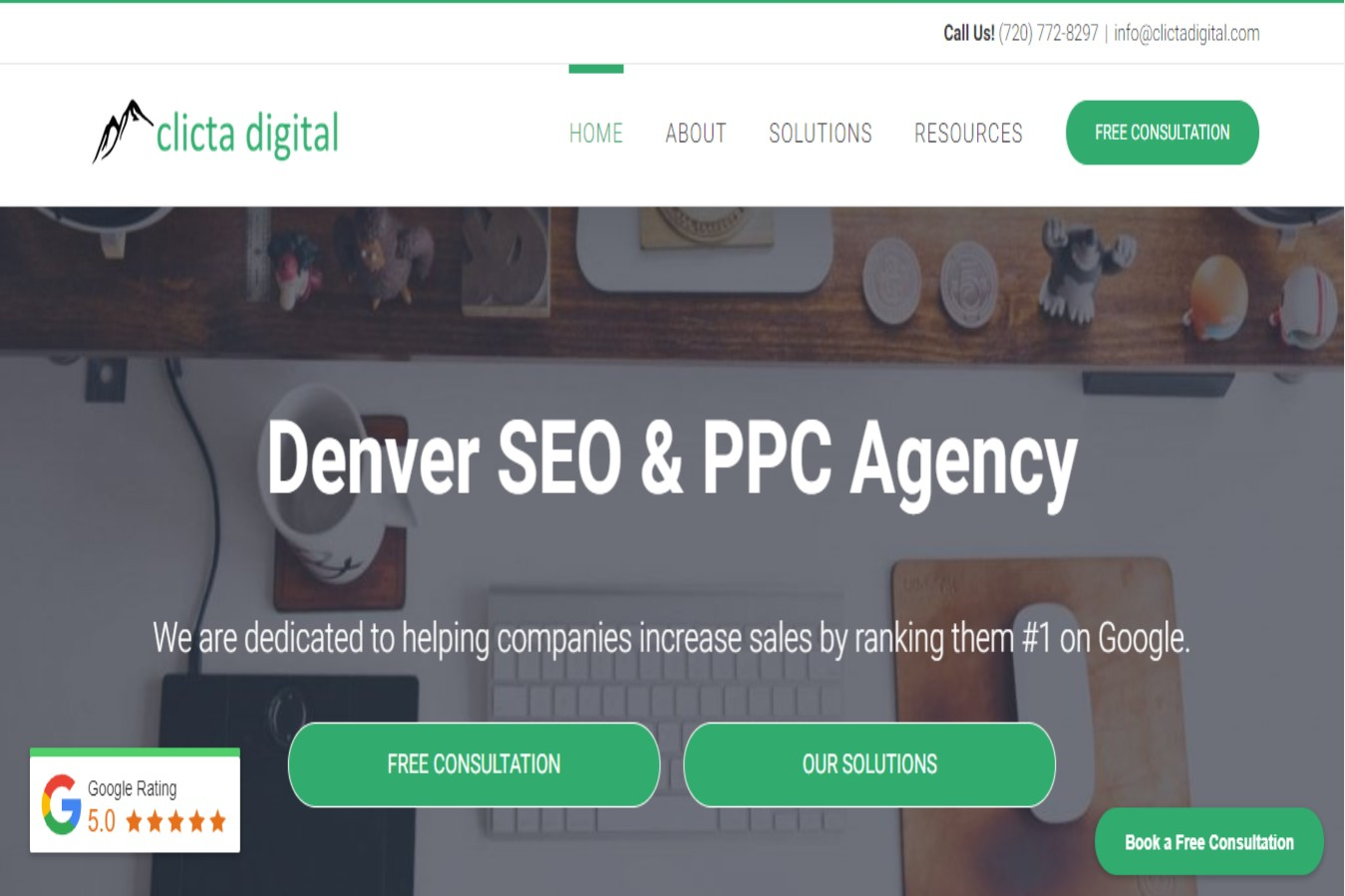 Top-rated digital marketer located in Denver, CO