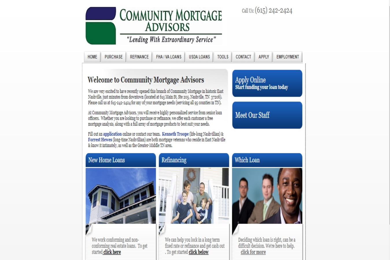 Community Mortgage Brokers in Nashville, TN