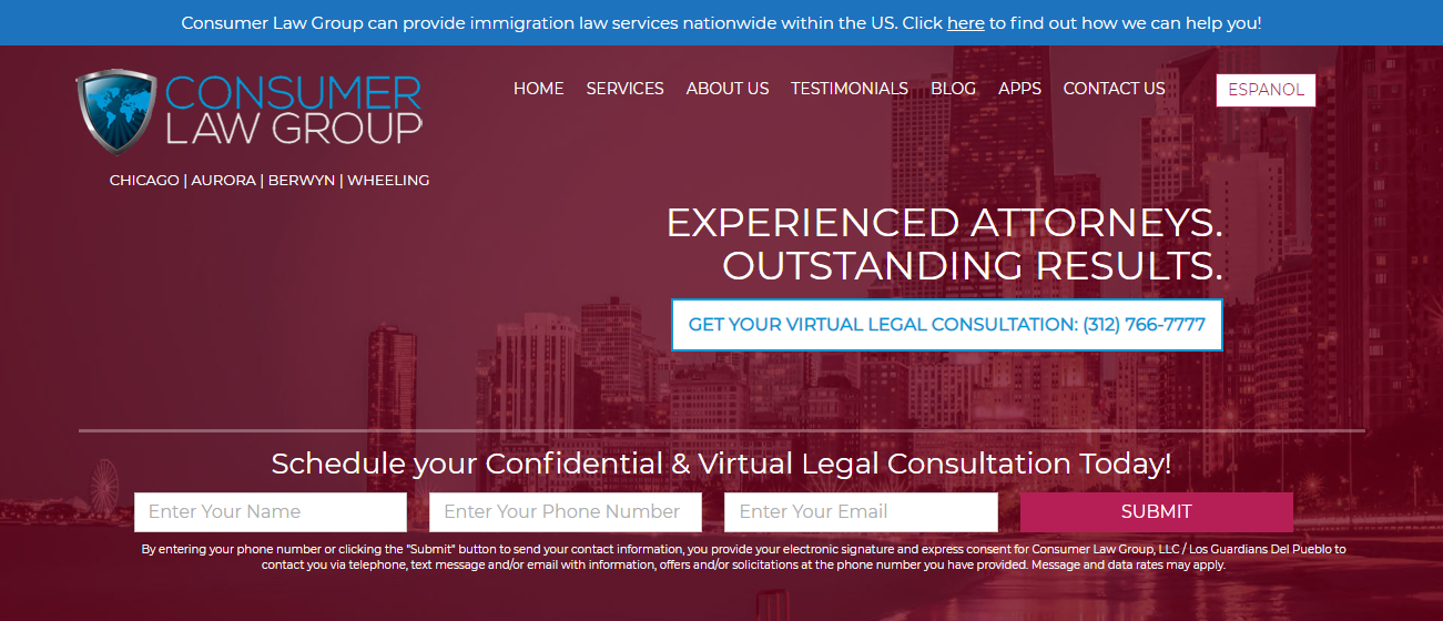 Consumer Law Group in Chicago, IL