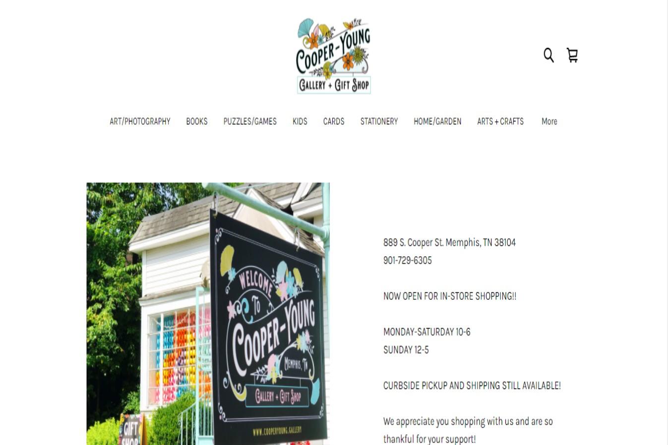 Cooper Young Best Gift Shops in Memphis, TN
