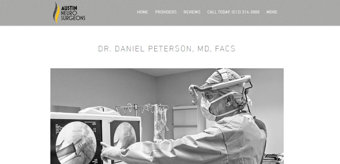 Daniel Peterson MD