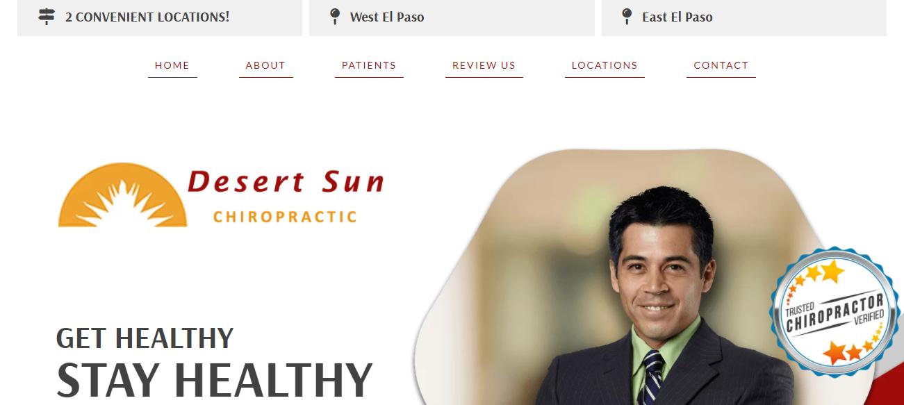 Desert Sun Chiropractic in El Paso, TX