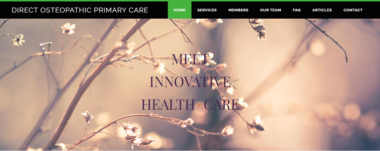 Direct Osteopathic Primary Care in Denver, CO