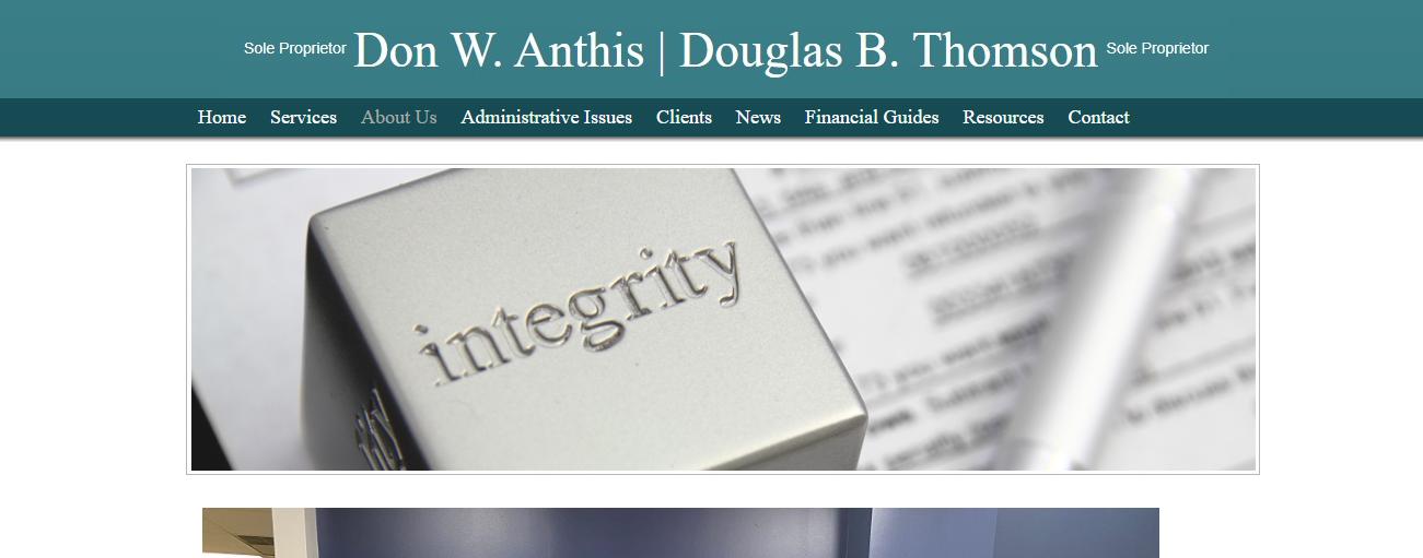 Don W. Anthis   Doug B. Thomson in Houston, TX