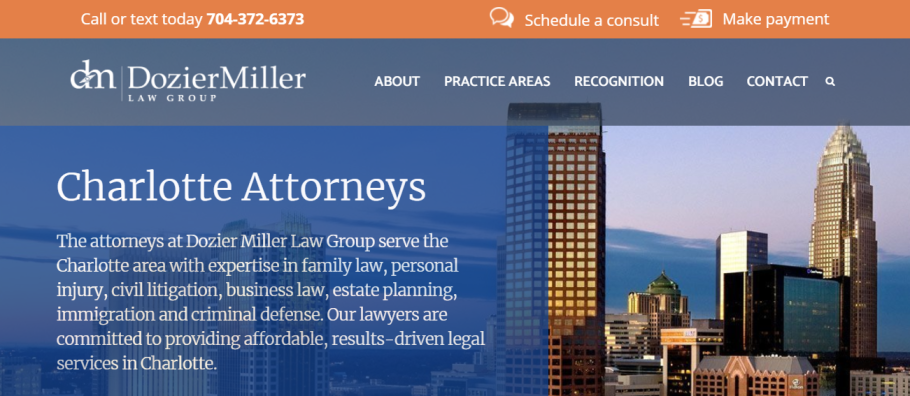 Dozier Miller Law Group in Charlotte, NC