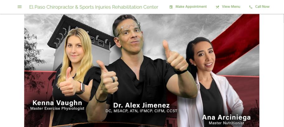 El Paso Chiropractor & Sports Injuries Rehabilitation Center in El Paso, TX