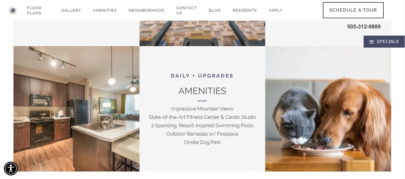 Encantada Best Apartments in Albuquerque, NM
