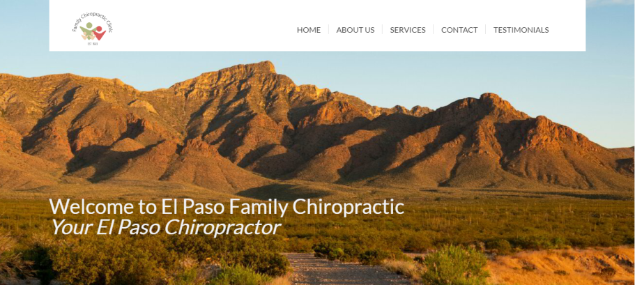 Family Chiropractic Clinic in El Paso, TX