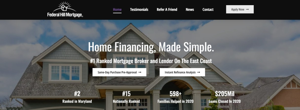 Federal Hill Mortgage
