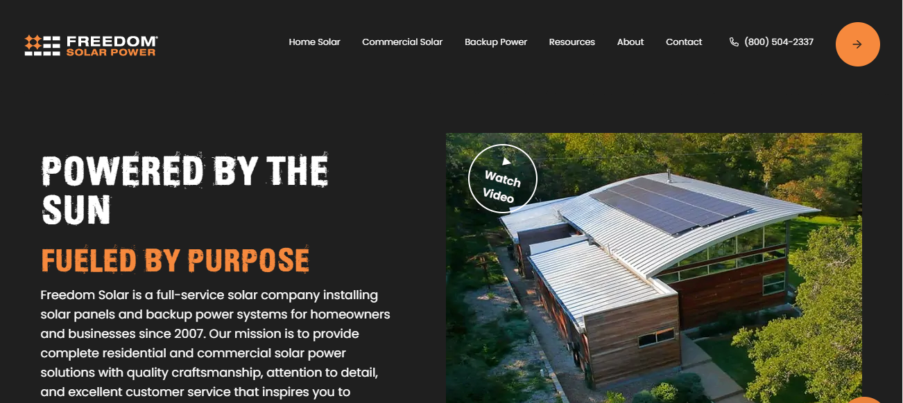 Freedom Solar in San Antonio, TX