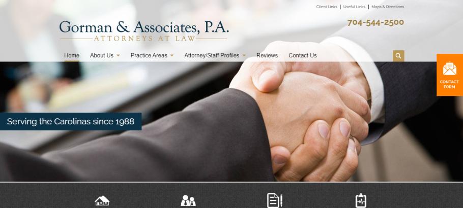 Gorman & Associates, P.A. in Charlotte, NC