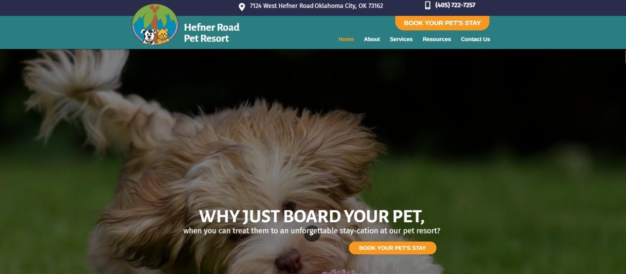 Hefner Road Pet Resort