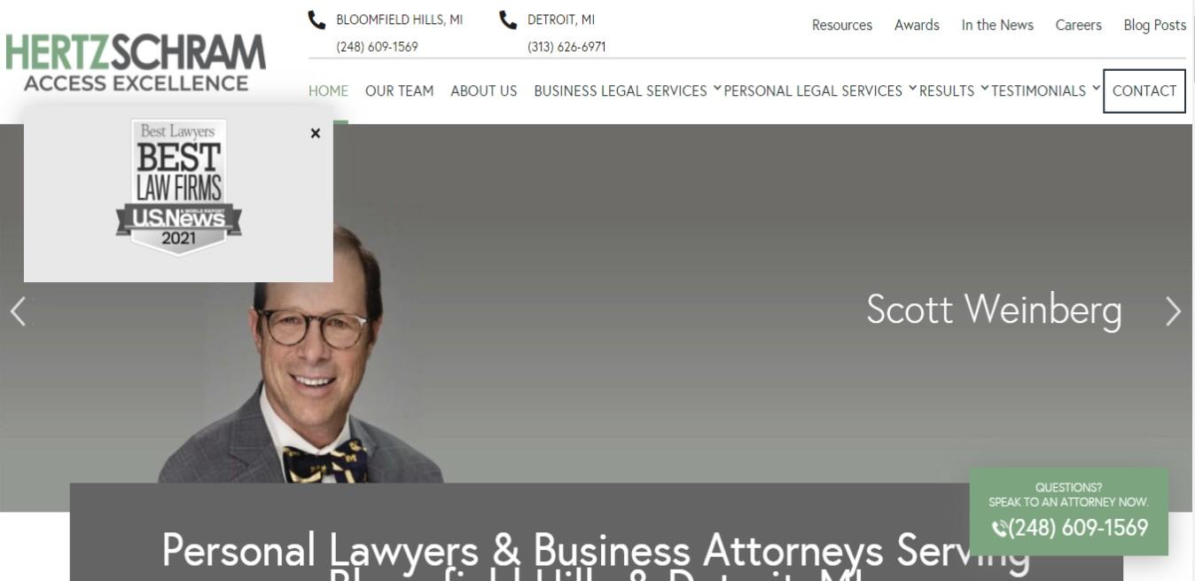 Hertz Best Employment Attorneys in Detroit, MI