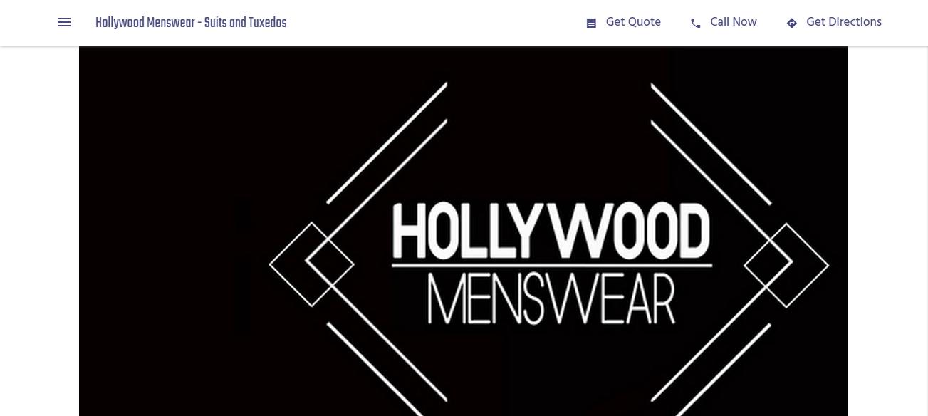 Hollywood Menswear in Los Angeles, CA