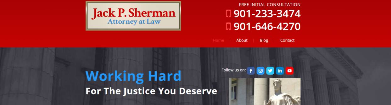 Jack P. Sherman, Attorney At Law