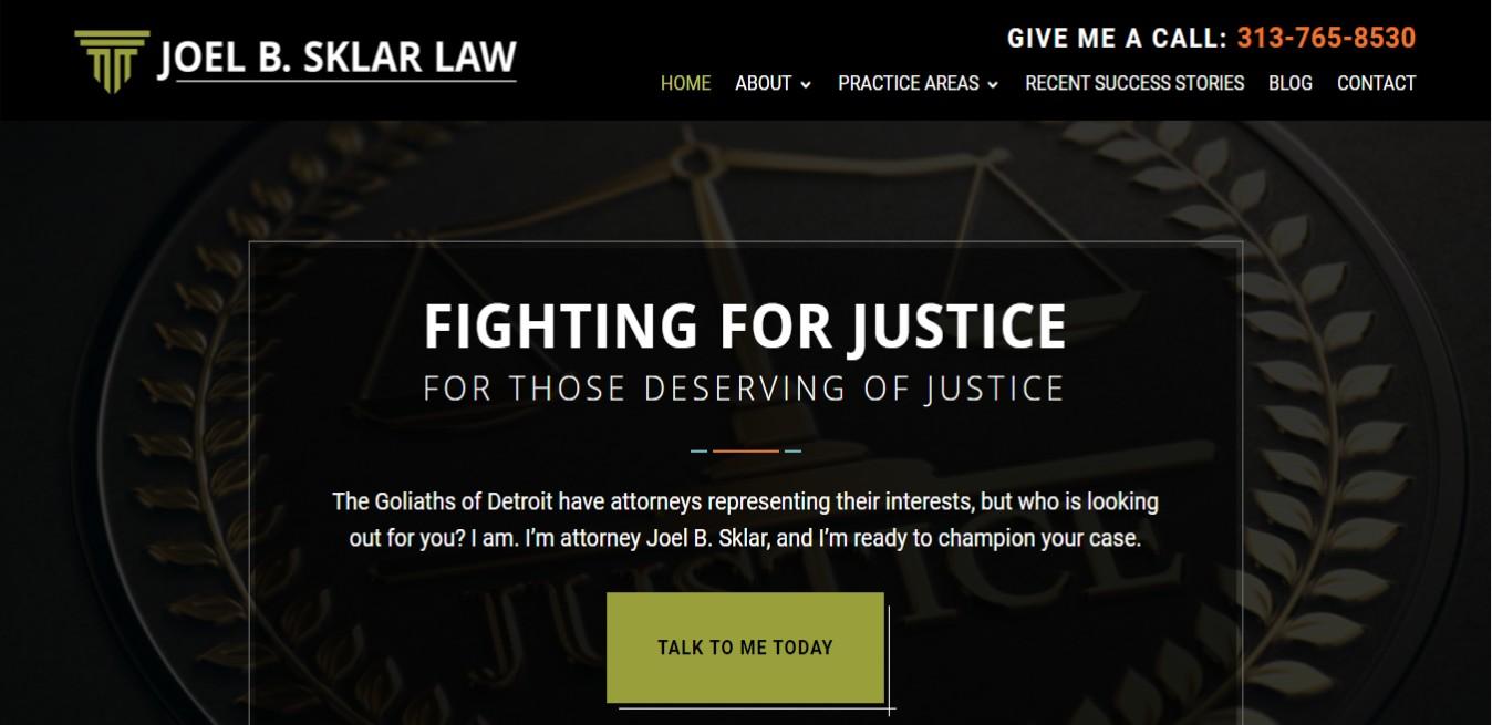Sklar Law Best Employment Attorneys in Detroit, MI