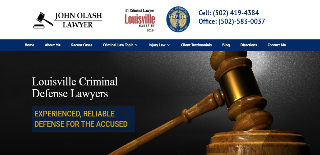 Olash BEST Drunk Driving Attorneys in Louisville, KY
