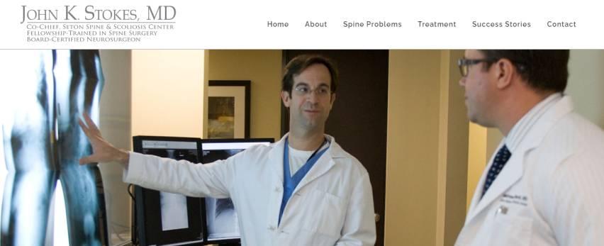 John K Stokes, MD