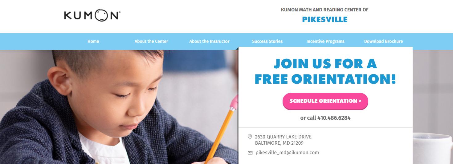 Kumon Math and Reading Center of Pikesville