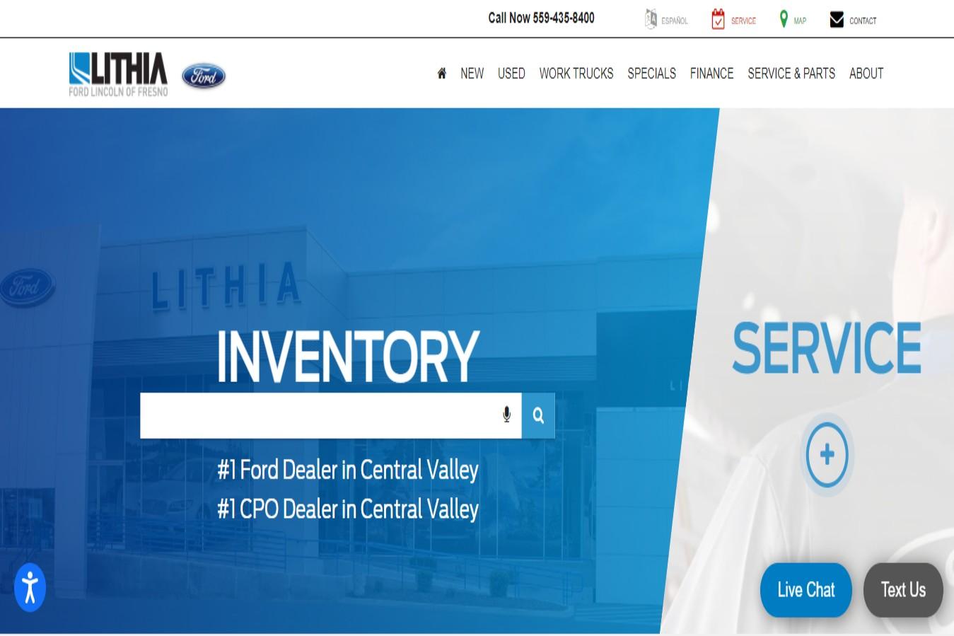 Lithia Top-rated Car Dealership in Fresno, CA