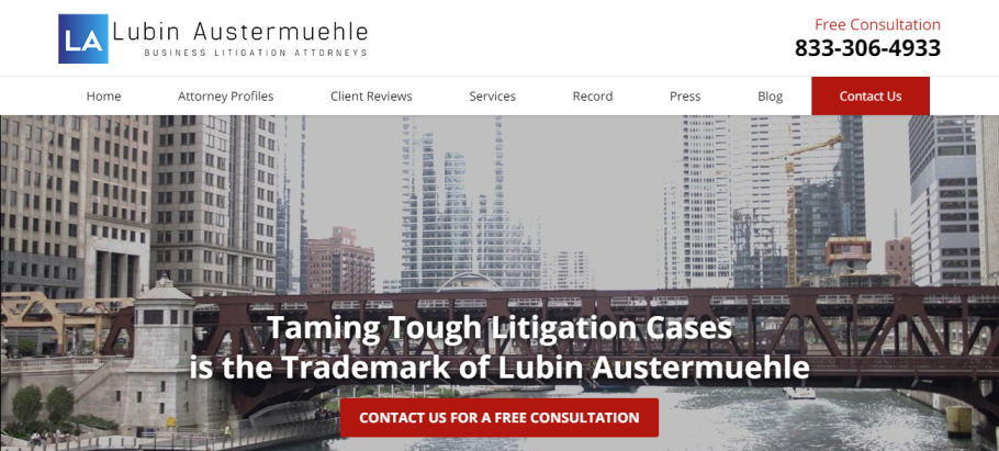 Lubin Austermuehle, P.C. in Chicago, IL