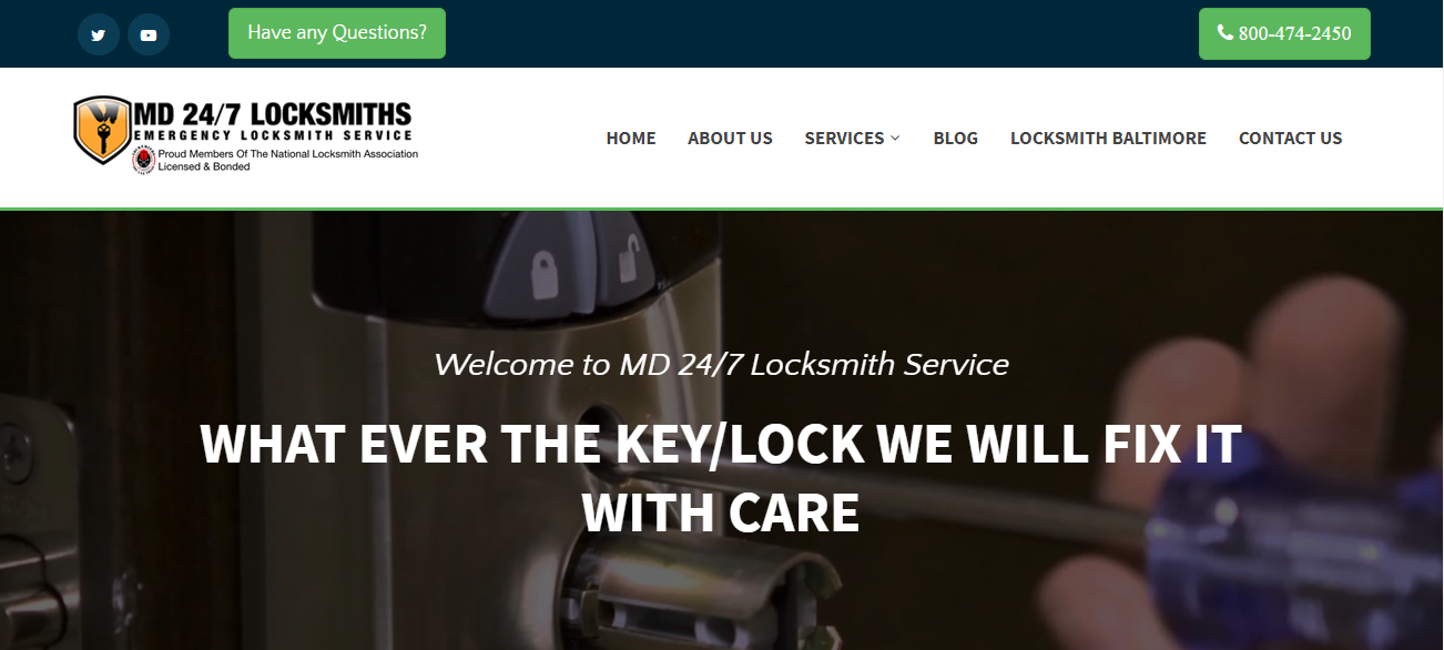 MD 24-7 Locksmith Services in Baltimore, MD