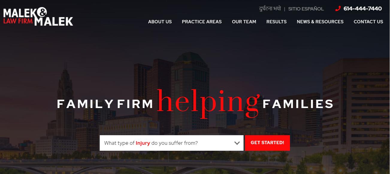 Malek & Malek Law Firm in Columbus, OH