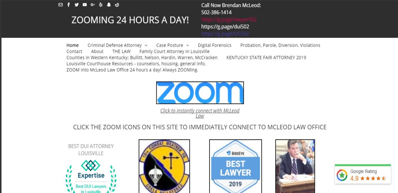 McLeod BEST Drunk Driving Attorneys in Louisville, KY