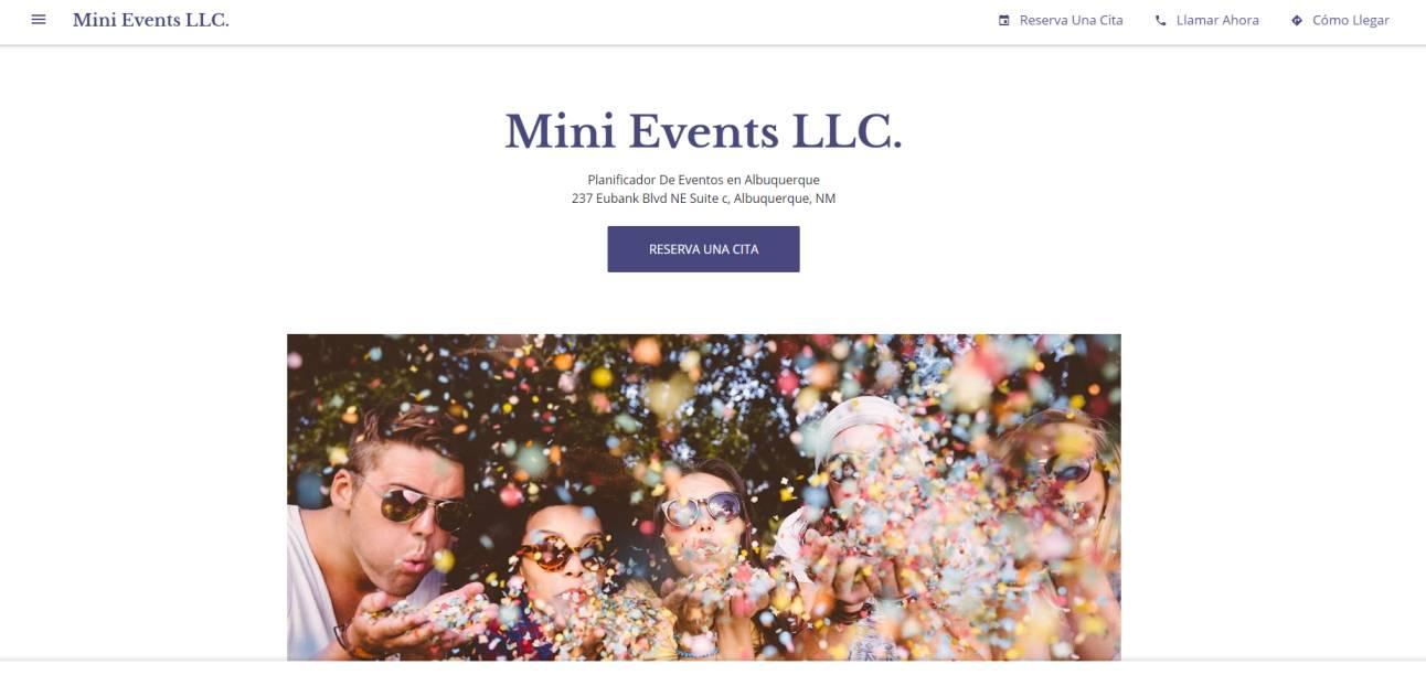 Mini Events LLC.