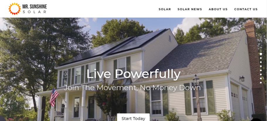 Mr. Sunshine Solar in Sacramento, CA