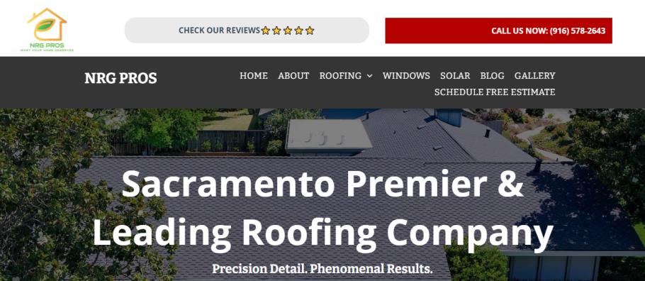 NRG-Pros in Sacramento, CA