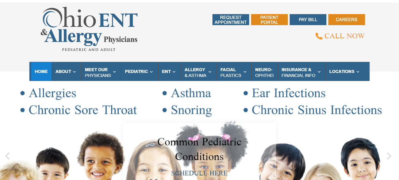 Ohio ENT & Allergy Physicians in Columbus, OH