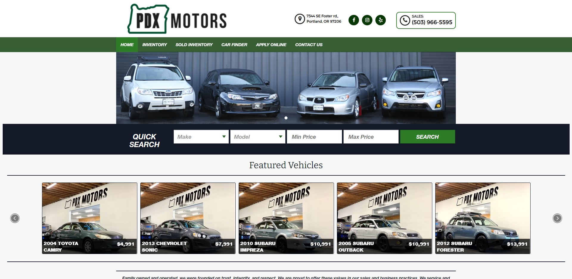 Best Used Car Dealers in Portland, OR