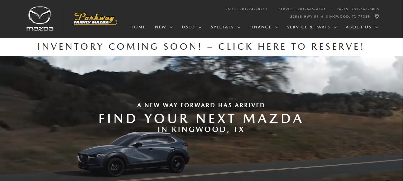 Parkway Family Mazda in Houston, TX