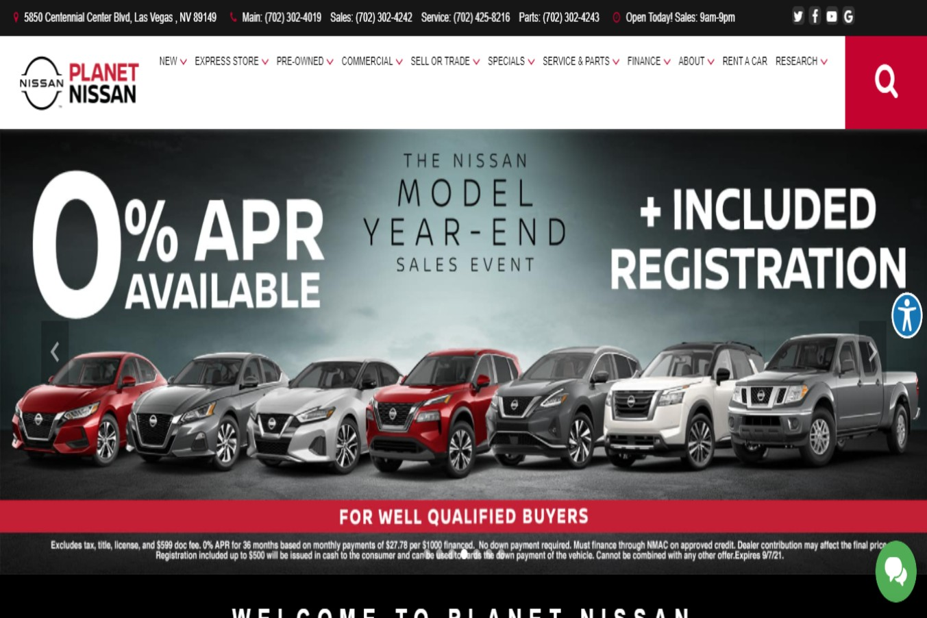 Premier Car dealership in Las Vegas, NV