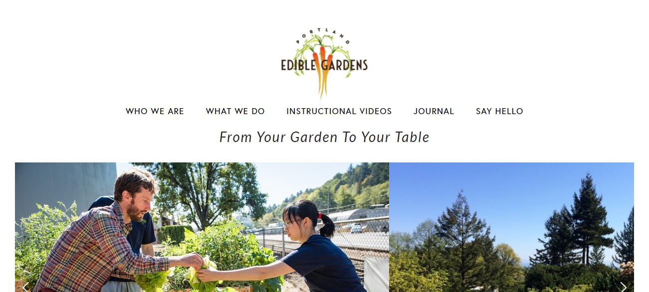 Portland Edible Gardens in Portland, OR