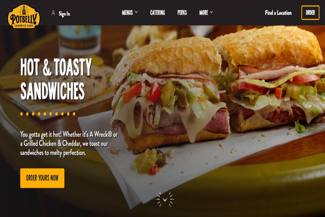 Potbelly's Best Sandwich Shops in Tucson, AZ