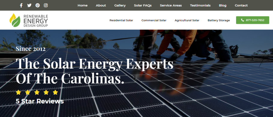 Renewable Energy Design Group in Charlotte, NC
