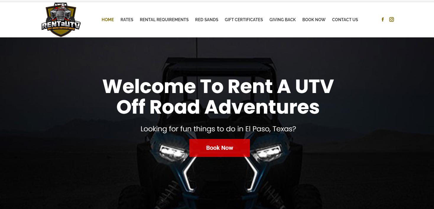 Rent a UTV Off-Road Adventures