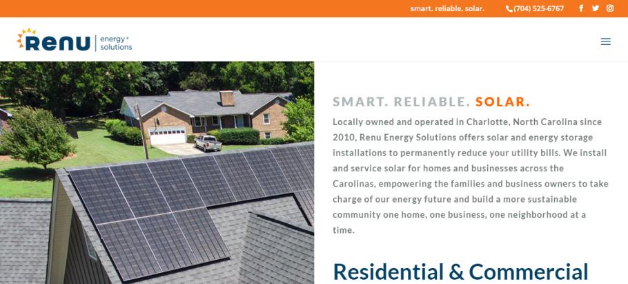 Renu Energy Solutions in Charlotte, NC