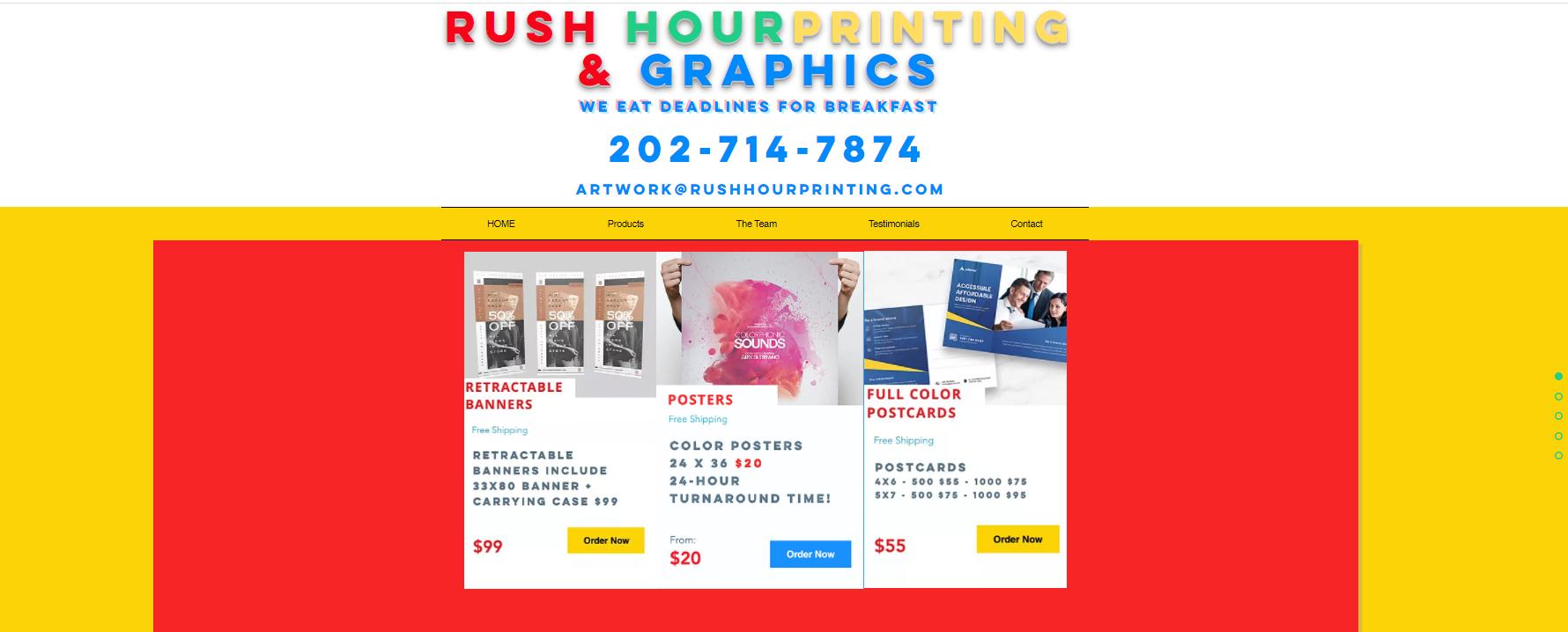 Rush Hour Printing and Graphics
