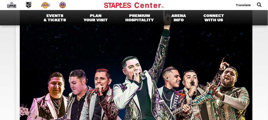 STAPLES Center in Los Angeles, CAB