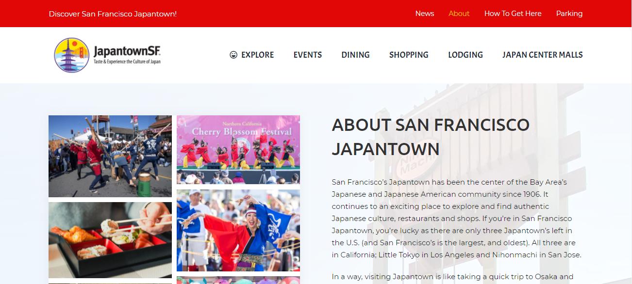 San Francisco Japantown in San Francisco, CA