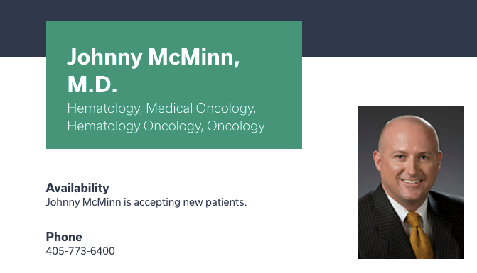 Johnny Best Oncologists in Oklahoma City, OK
